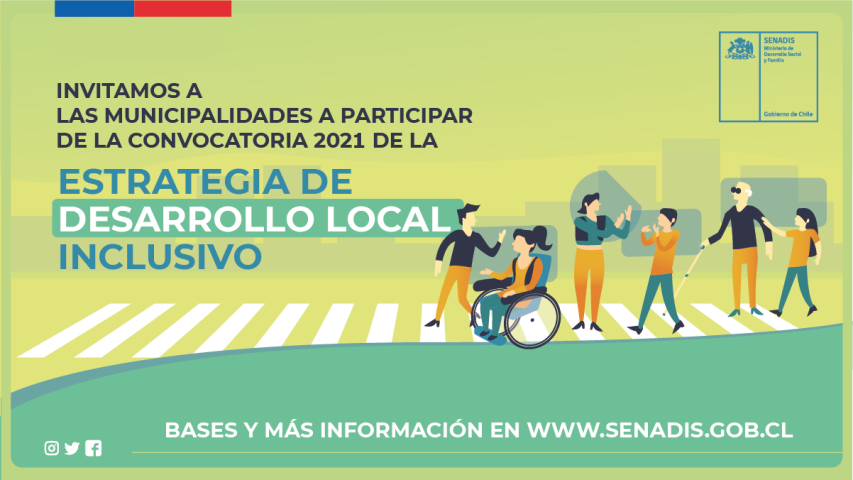 Se inicia convocatoria a Estrategia de Desarrollo Local Inclusivo 2021